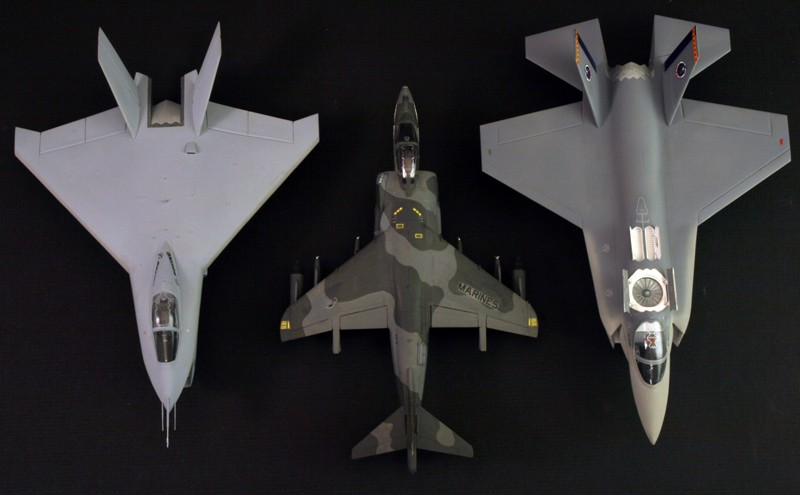 Boeing X-32A & Lockheed Martin X-35B [1:72 - Revell] X32ax311