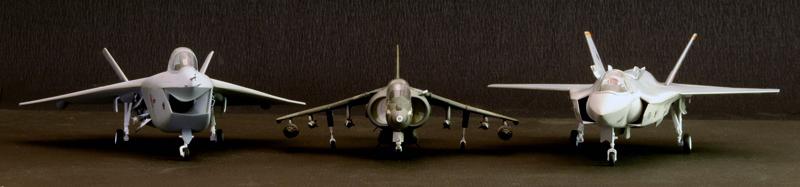 Boeing X-32A & Lockheed Martin X-35B [1:72 - Revell] X32ax312