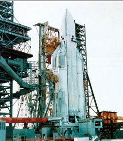 Rapport masse de la charge utille/masse des fusées russes Energi11