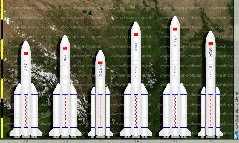 CZ-5 : Nouvelle génération de lanceur lourd - Page 5 Famill10