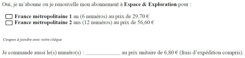 Espace & Exploration n°10 - Page 2 Formul10