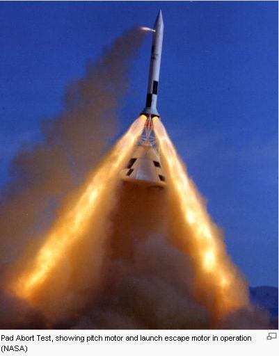 Tour d'éjection de Orion : le banc d'essai est prêt Launch11