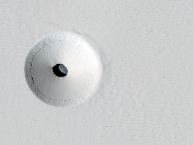 Exploration robotique des cavernes martiennes. Marsho10