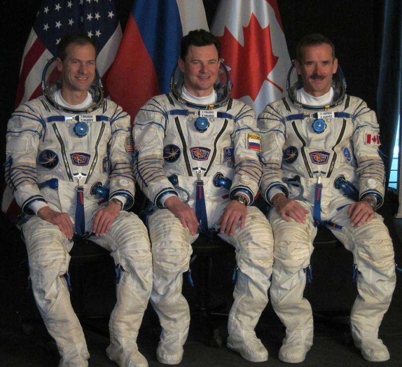 Lancement, amarrage et atterrissage de Soyouz TMA-07M  Soyuz-10