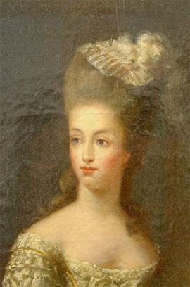 Portrait de la Reine 1778 Mariea11
