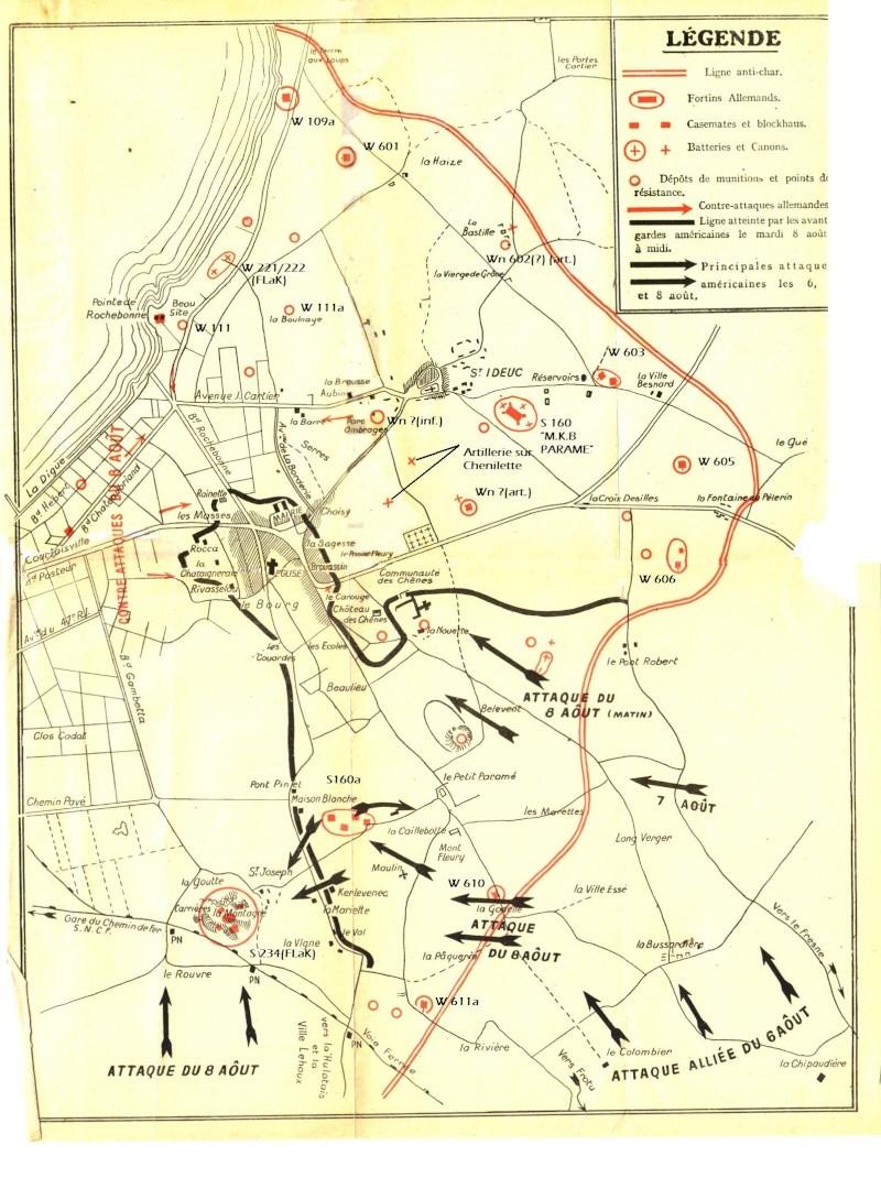 Bataille de Paramé du 6 au 13 aout 1944 Plan_p10