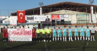 Biga Bahar Kupası Futbol Turnuvasına, Biga Pomaklar Derneği damgası. 55095310