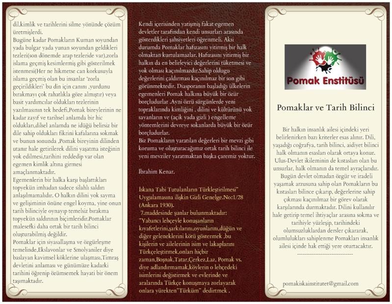 Broşür-4- : Pomaklar ve Tarih Bilinci Pomakl10