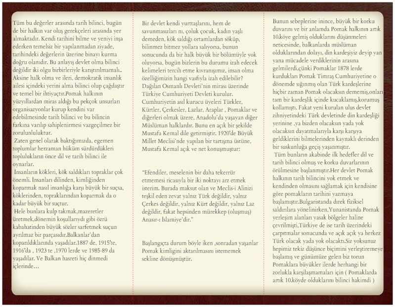 Broşür-4- : Pomaklar ve Tarih Bilinci Pomakl11
