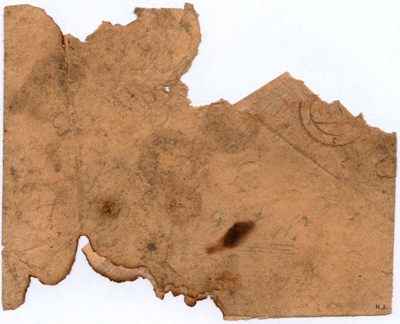 Documents de fouille / Festung Gironde F_corr12