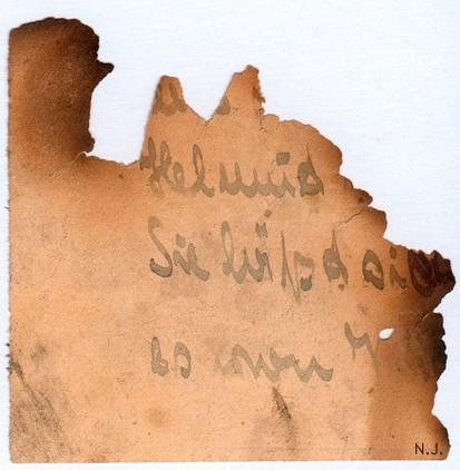 Documents de fouille / Festung Gironde F_corr14