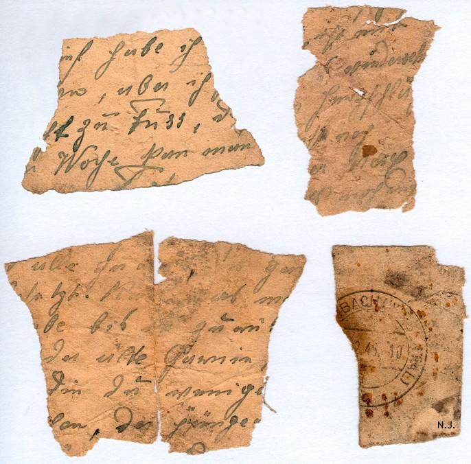 Documents de fouille / Festung Gironde F_corr15