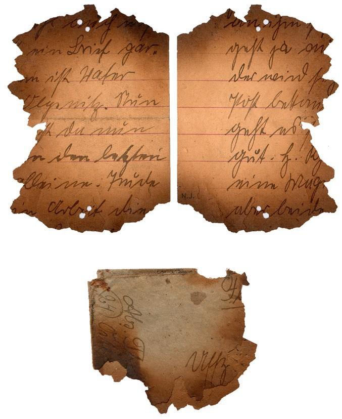 Documents de fouille / Festung Gironde F_corr16