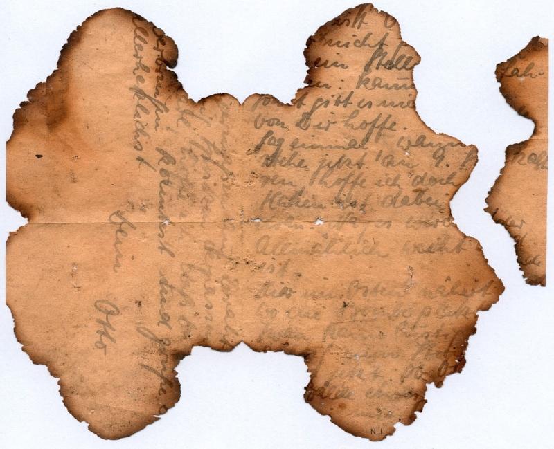 Documents de fouille / Festung Gironde F_corr21