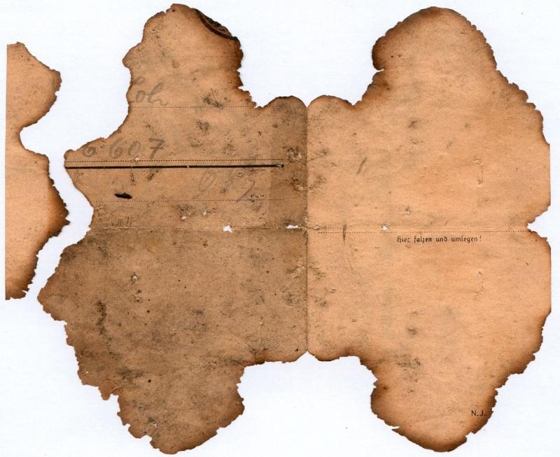 Documents de fouille / Festung Gironde F_corr22