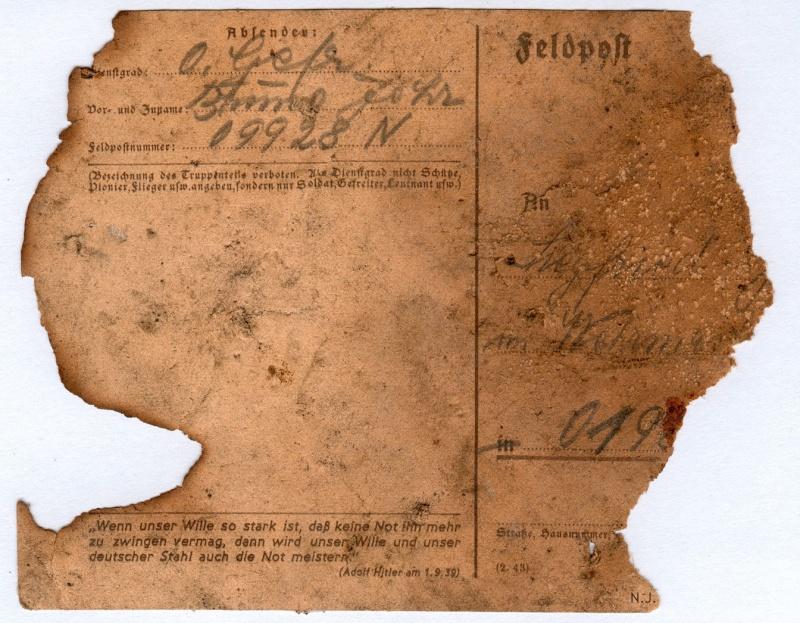 Documents de fouille / Festung Gironde F_corr23