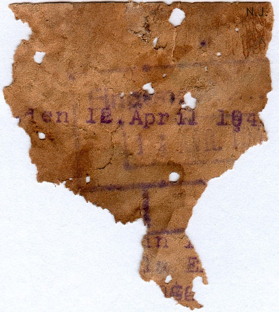 Documents de fouille / Festung Gironde F_doc_12