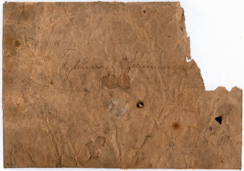 Documents de fouille / Festung Gironde F_doc_13