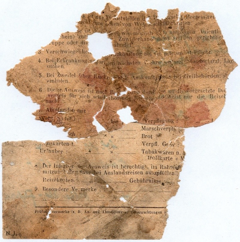 Documents de fouille / Festung Gironde F_doc_19