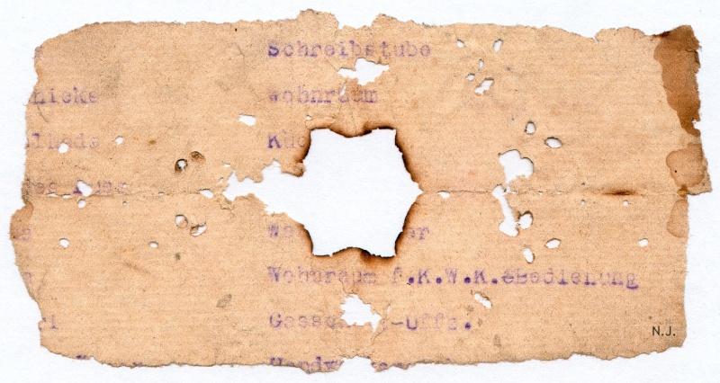 Documents de fouille / Festung Gironde F_doc_24