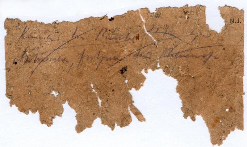 Documents de fouille / Festung Gironde F_doc_25