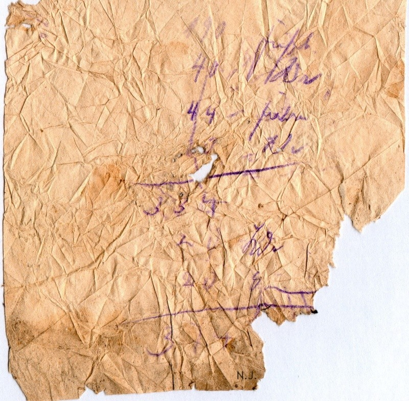Documents de fouille / Festung Gironde F_doc_26