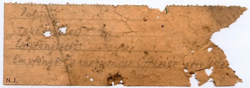 Documents de fouille / Festung Gironde F_doc_30