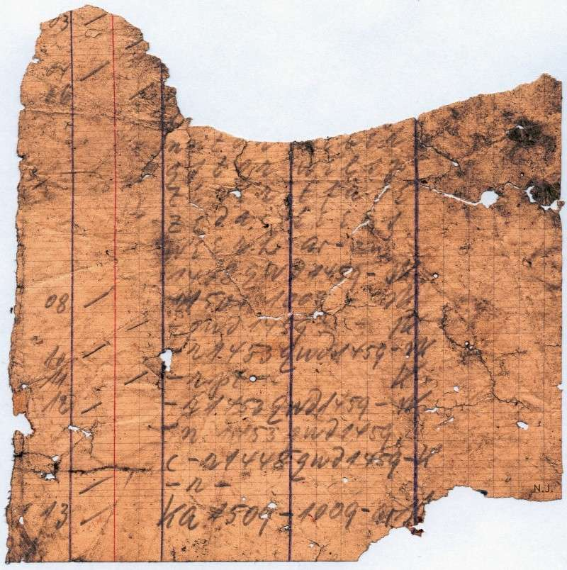 Documents de fouille / Festung Gironde F_doc_33