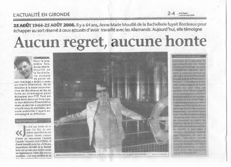 Journal Sud-Ouest lundi 25 août 2008 Sans_n35