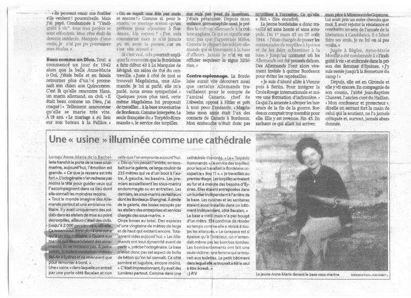 Journal Sud-Ouest lundi 25 août 2008 Sans_n36