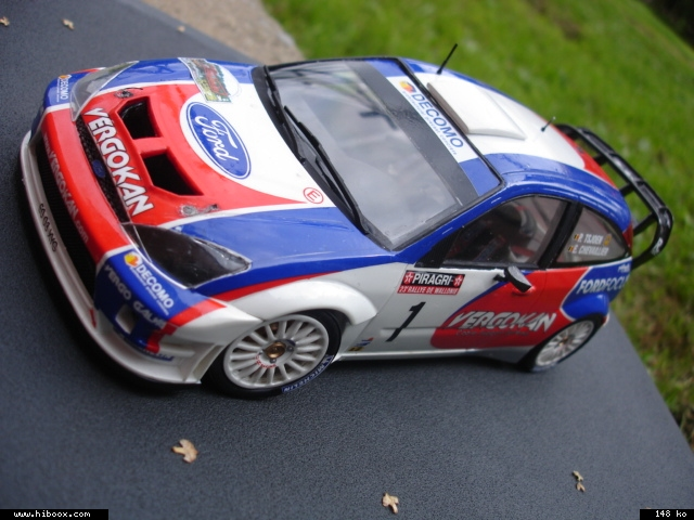 Ford Focus RS WRC Hasegawa Bc616j10