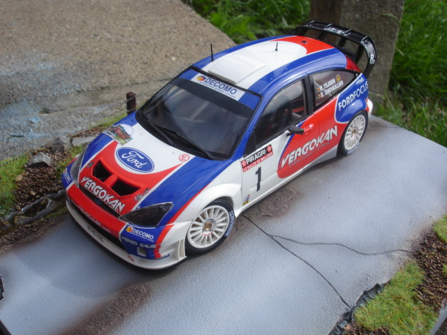 Ford Focus RS WRC Hasegawa Dossi160