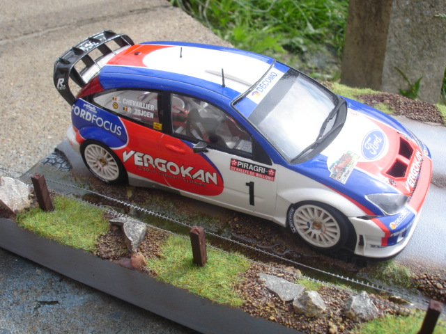 Ford Focus RS WRC Hasegawa Dossi164