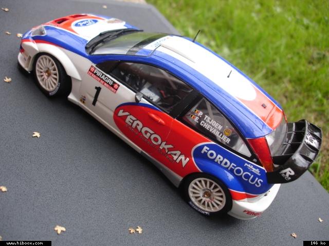 Ford Focus RS WRC Hasegawa Kzsg1h10