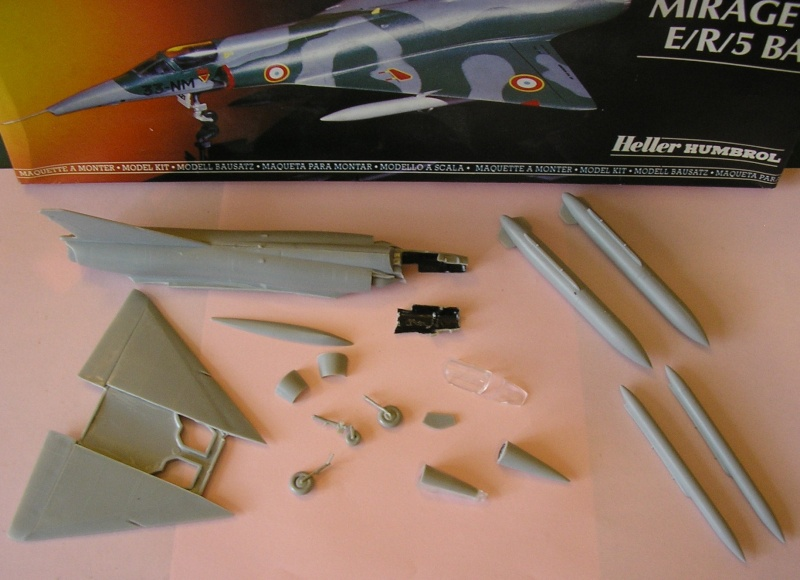 Dassault Mirage III E-X N-G // - [Heller  1/72] P1010248