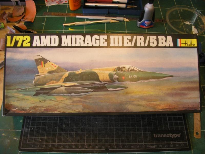 Dassault Mirage III E-X N-G // - [Heller  1/72] P1010250