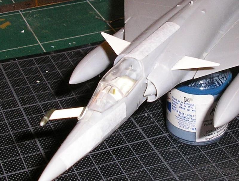 Dassault Mirage III E-X N-G // - [Heller  1/72] P1010267