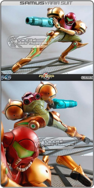 """Les Figurines """"First 4 Figures"""" Metroid 1332_110"""