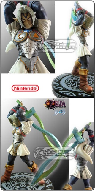 """Les Figurines """"First 4 Figures"""" Zelda 1333_110"""