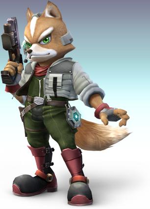 Listing en image des personnages SSBB Fox10