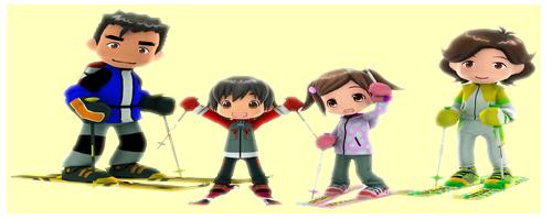 Family Ski Iir11