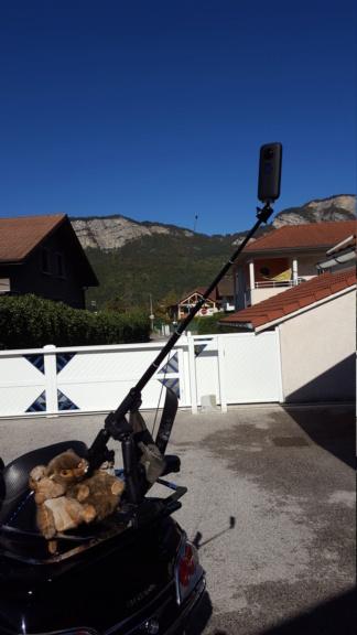 Pince support caméra sport  20191019