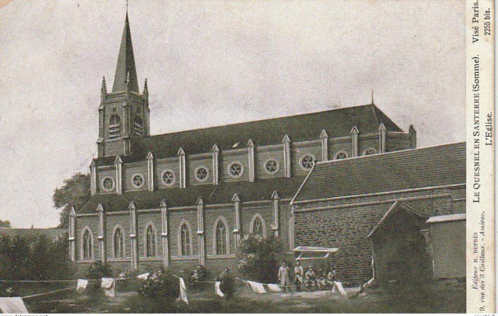L'EGLISE de Le Quesnel : église Saint léger. 22211