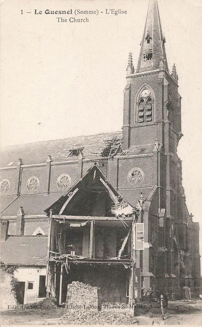 L'EGLISE de Le Quesnel : église Saint léger. 229