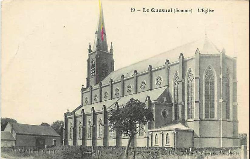L'EGLISE de Le Quesnel : église Saint léger. 235