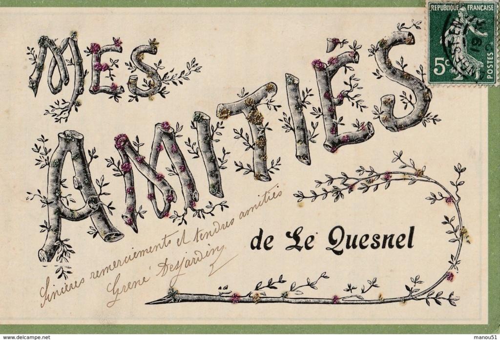 cartes postales originales de LE QUESNEL 257_0010