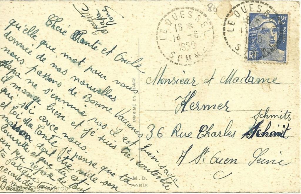 cartes postales originales de LE QUESNEL 2_2_11