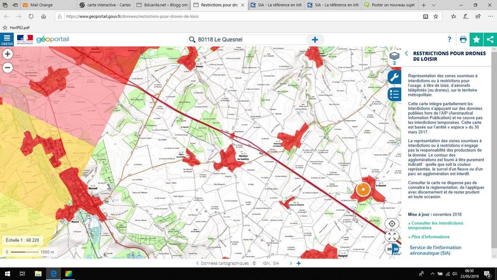 loisirs : carte de restrictions pour drones Carte_17