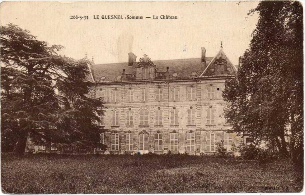 le CHATEAU : photos, cartes postales anciennes et photos actuelles Chatea14