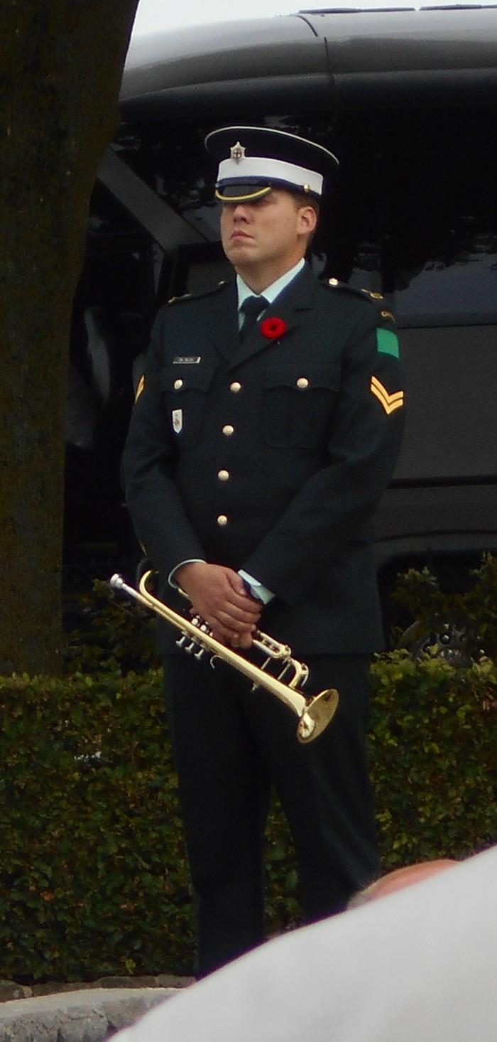 08 aout 2018 : commémoration cimetière canadien LE QUESNEL Dscn1126